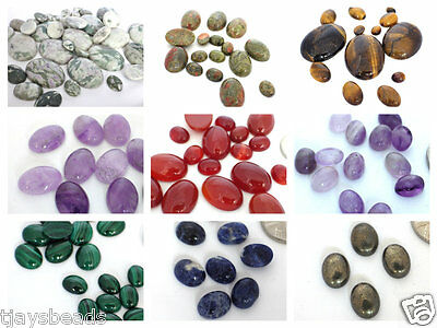 1 x Gemstone Oval Cabochon for Jewellery Making