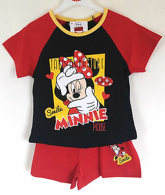 Disney, Minnie Mouse, Girls Pyjamas, New With Tags,4-5,5-6 Years,100% Cotton