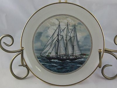 The Danbury Mint * The Tall Ships--Complete Set Of 12 Plates * Fantastic Set!!!