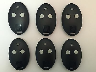 6 x BFT MITTO 2 Remote Control Multi User Value Pack SAME DAY DISPATCH  POST UK