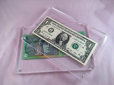 Protective Holder Hard Case For Money/ticket/banknote/bank Note/cards/tickets
