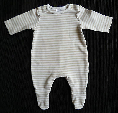 Baby clothes UNISEX BOY GIRL premature<7.5lbs/3.4kg Miniclub stripe babygrow