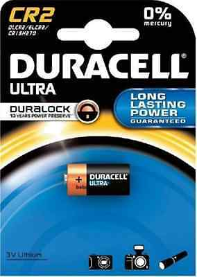 1 x CR2 Duracell 3V Ultra Lithium Photo Camera Batteries DLCR2 / ELCR2