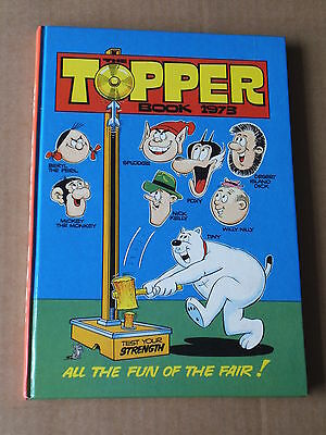 THE TOPPER BOOK ANNUAL (1973) Lovely Condition