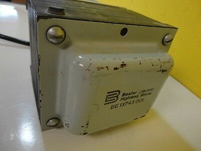 Basler Electric Be 13743 001 Be13743001 Transformer/ 2 Plug In Used