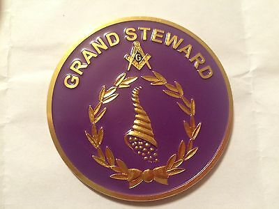 Auto Emblem - Masonic Grand Lodge - Grand Steward