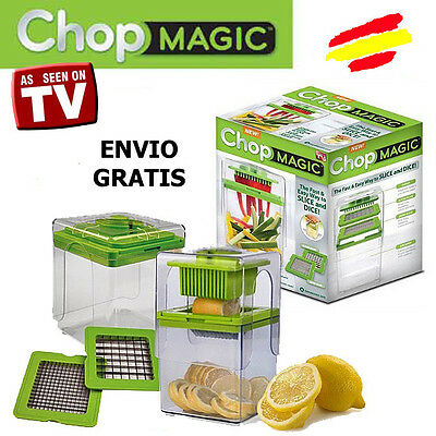 CHOP MAGIC Cortador PATATAS VERDURAS FRUTAS Multiusos Visto en TV