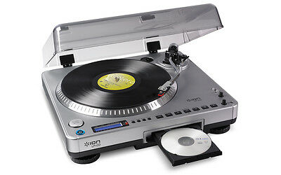 Ion Audio Lp2Cd Digital Conversion Turntable With Built In Cd Recorder