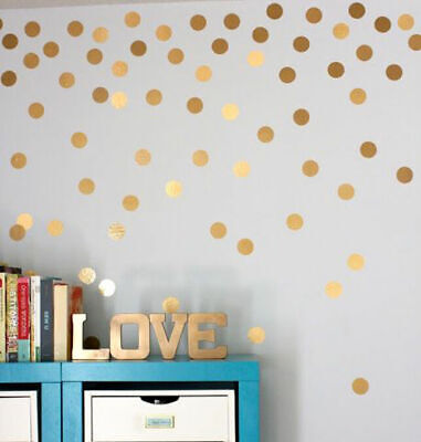Polka Dots Nursery Wall Stickers Removable Kid Baby Vinyl Decal Decor Art Mural