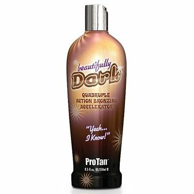 Pro Tan ProTan Beautifully Dark Tanning Sunbed Cream Lotion Bottle 250ml