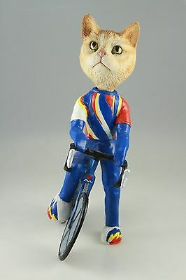 Bicycle Red Taby Cat Interchangable Body See All Breeds Bodies @ Ebay Store