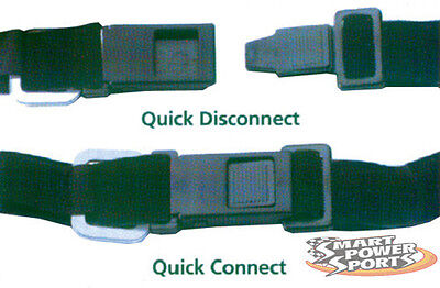 FAST HOOK Quick Release Helmet Buckle Chin Strap - Made In USA - Ships Same Day