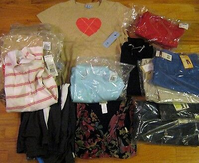16 piece Lot of Ladies Clothing from a major online retailer IZOD Dockers LEE +