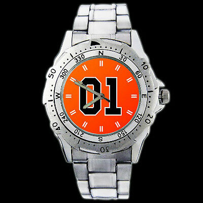 The Dukes Of Hazzard General Lee 01 New Metal Wristwatch Watch 41