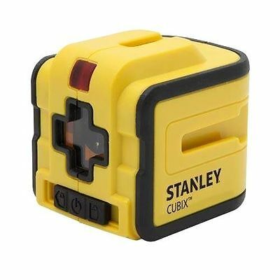 STANLEY Cubix Cross Line Laser STHT77340 Horizontal Vertical DIY Free Shipping