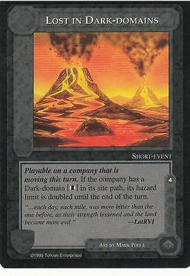 Lost in Dark Domains-Middle Earth The Wizards CCG Lim. Ed. Mint/N.Mint 1995 ME56
