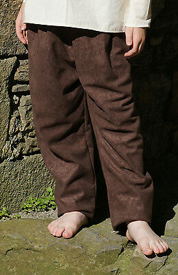 Medieval-LARP-Re enactment-SCA-Viking CHILDS Drawstring trousers-Pants All ages
