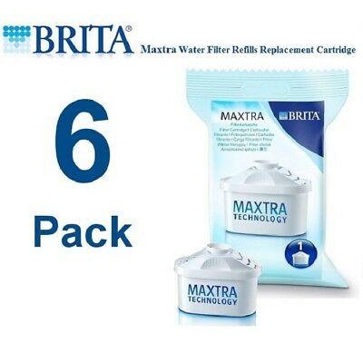 6 PACK BRITA Maxtra Water Filter Refills Replacement Cartridge Marella Genuine