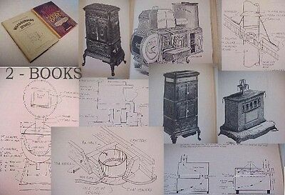 VINTAGE FRANKLIN FIREPLACE Wood Stove Instruction Manual 1970's