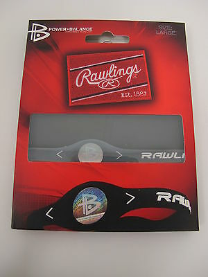 RAWLINGS Silicone Power Balance Technology Bracelet Clear X-Small (6.3 inches)