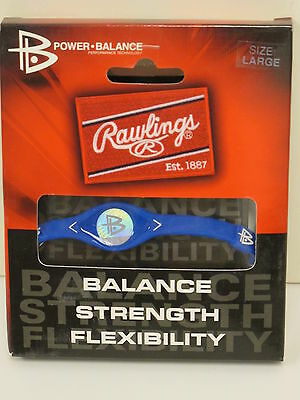 RAWLINGS Silicone Power Balance Technology Bracelet Royal Blue Small (6.9 in)