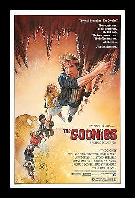 THE GOONIES  framed movie poster 11x17 Quality Wood Frame