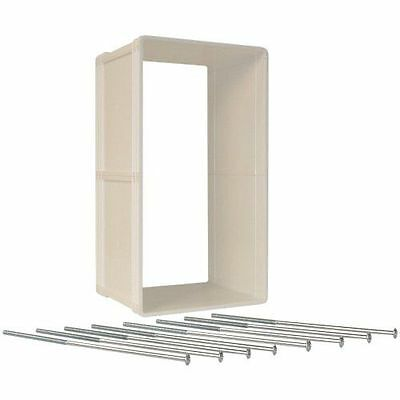 Ideal Pet Doors Super Large Ruff Weather Wall Kit 15-Inch by 23-1/4-Inch New