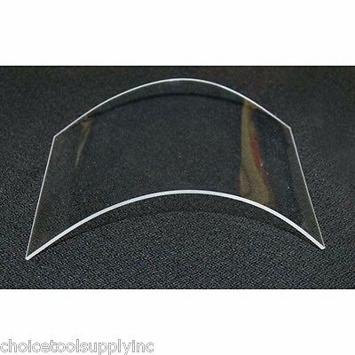 """Replacement Protection Lens for Heavy-Duty Canvas Sandblasting Hoods (7"""" x 8.5"""")"""