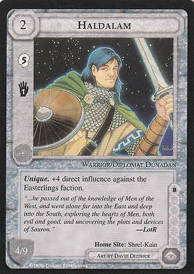 Haldalam - Middle Earth The Wizards CCG b.b. Lim.Ed. Mint/N.Mint 1995 ME82