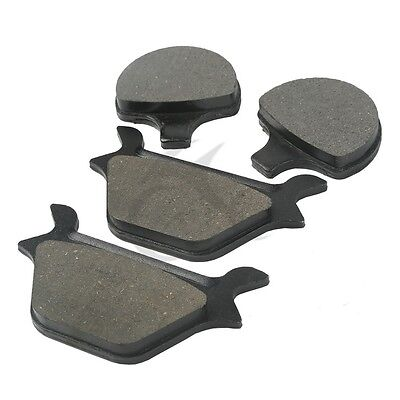 F+R Brake Pads For Harley Sportster & Softail Series All Models 1988-1999 97 98