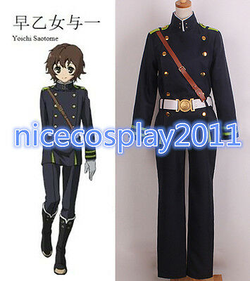 20% OFF Seraph of the end The Moon Demon Company Yoichi Saotome Cosplay Costume