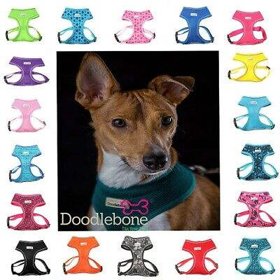 Doodlebone soft mesh harness in a choice of colours and sizes