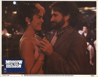 Moscow on the Hudson 1984 Original Movie Poster Comedy Drama Romance