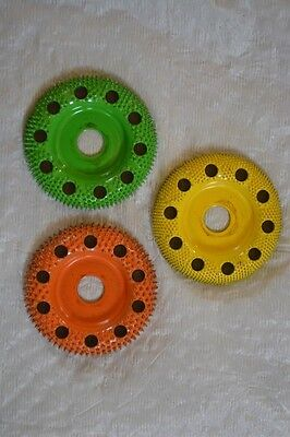"10% DISCOUNT Set of 3 Saburr-Tooth Doughnut Wheel 2"" DW250H/DW270H/DW290H"