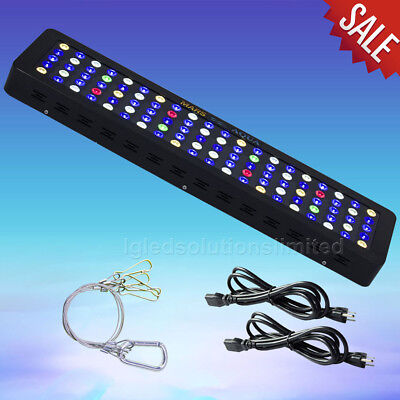 MarsAqua Dimmable 300W LED Aquarium Light Full Spectrum Reef Marine Coral Lamp