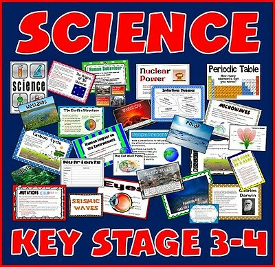 Cd Science Teaching Resources Key Stage 3-4 Chemistry Biology Physics