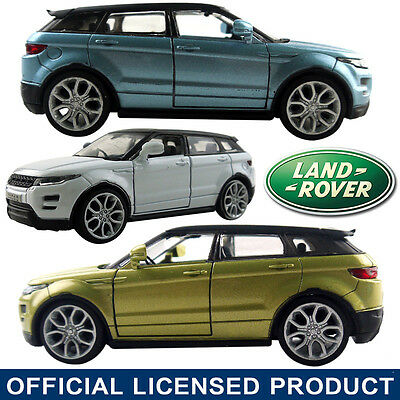 1:35 Range Rover EvoQue Die Cast Model Car Kid Pull Back Friction Powered Toy