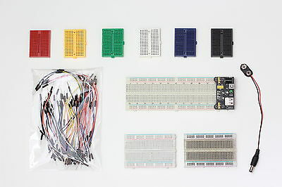 Breadboard,PSU- Use with PIC,AVR,Pi, Arduino etc. Prototype Electronics Projects
