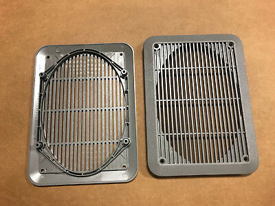 92-14 Factory Ford Eseries Cargo Van Speaker Grill Cover Oem Econoline Eseries