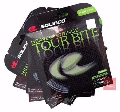 SOLINCO Heaven Strings Tour Bite Silver Tennis String Set (All Gauges Available)