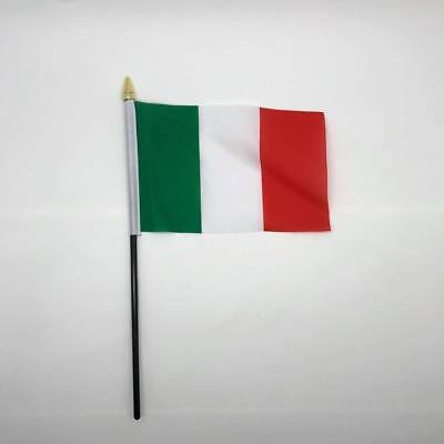 Table Desk Top Flag Italy Italia Flags Polyester Without Base 100% to charity UK