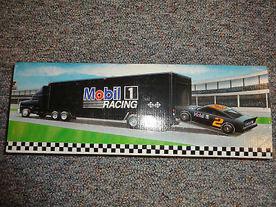 Mobil 1994 Limited Edition Collectors Toy Race Car Carrier 2Nd In Series