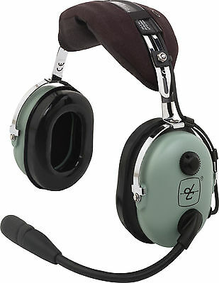 David Clark Model H10-13.4 Aviation Pilot Headset - GA Dual Plugs - 40411G-01