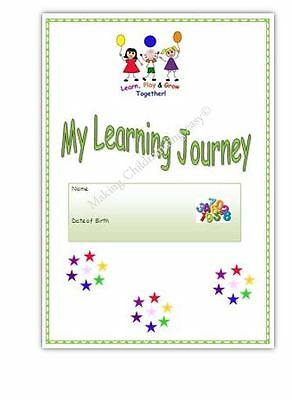 MY LEARNING JOURNEY/ JOURNAL* EYFS childminder, pre school resource.