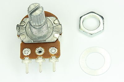 Log/Lin Potentiometer Rotary (15mm) 500R -> 2M, Sold 5 Pieces