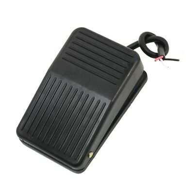 KS SS SPDT Nonslip Metal Momentary Electric Power Foot Pedal Switch