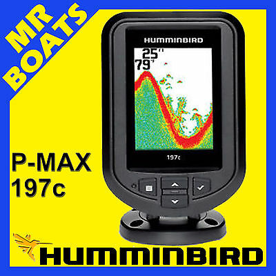 Humminbird 197C PiranhaMax * FISHFINDER COLOUR *Dual Beam fish finder FREE POST
