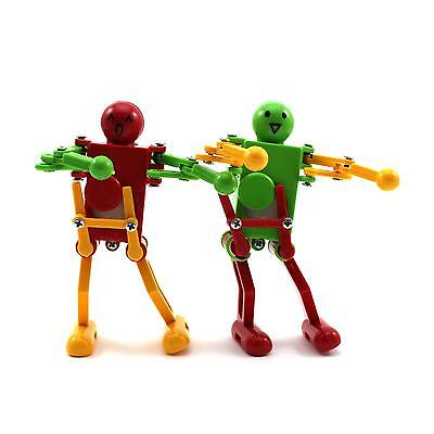 Popular Dancing Robot Toy Children Kids Clockwork Control Wind Up Funny Toy Gift