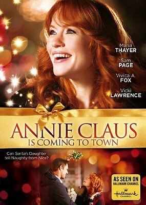 NEW Annie Claus Is Coming To Town (Hallmark) (DVD)
