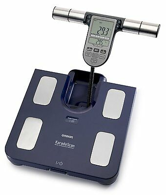 Omron BF511 Family Body Composition Monitor Fat Weight Bathroom Scale Scales NEW